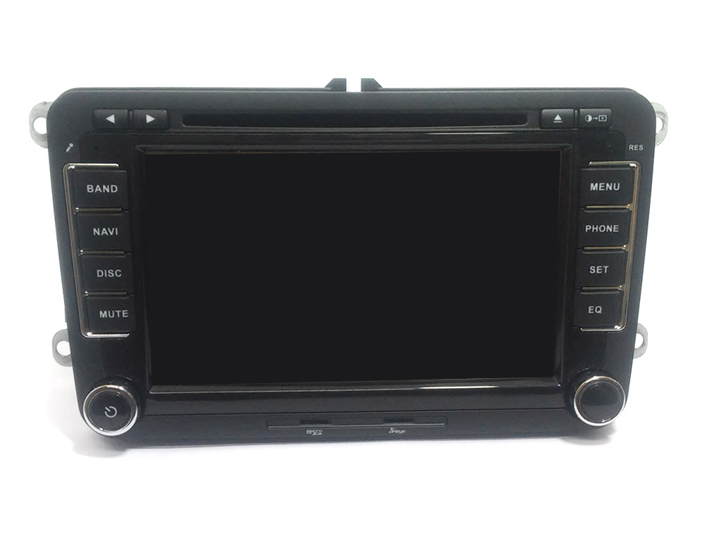"VW GOLF 5 6 V VI Seat Skoda Autoradio 7"" HD Touchscreen DVD MP3 GPS Navi USB SD"