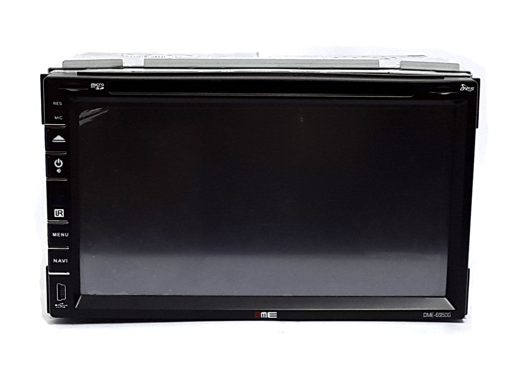 Autoradio 2 DIN 7'' FHD 1080p Touchscreen Navigatore GPS DVD BT NAVI USB SD CD