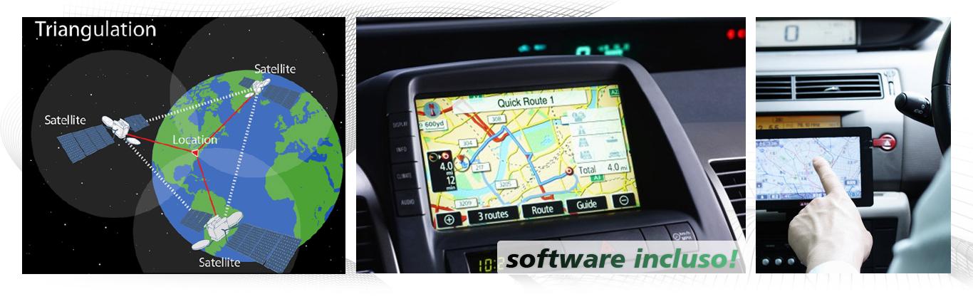 autoradio con navigatore gps