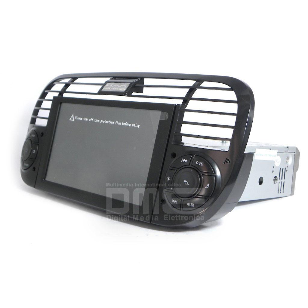 autoradio fiat 500 6 2 hd 1080p touch navigatore gps dvd bt usb sd mirrorlink n ebay. Black Bedroom Furniture Sets. Home Design Ideas