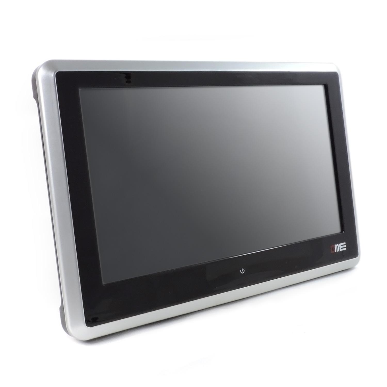 Roboraty Monitor LED per Poggiatesta Auto Cuscino TV Posteriore per Cuscino Installazione Non Distruttiva,Black Touchscreen HD Universale da 7 Pollici Supporto TF//SD//USB//U Disco