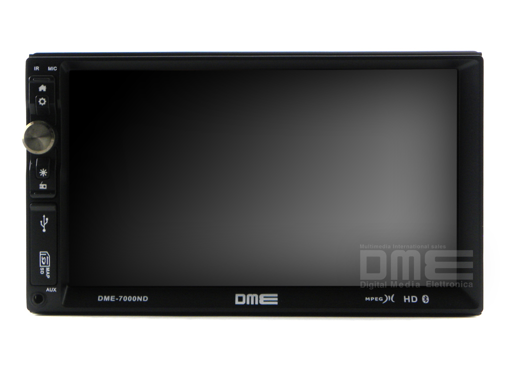 "Autoradio 2 Din 7"" HD Touchscreen RDS USB SD Mp3 Mpeg4 DivX Bluetooth senza DVD"