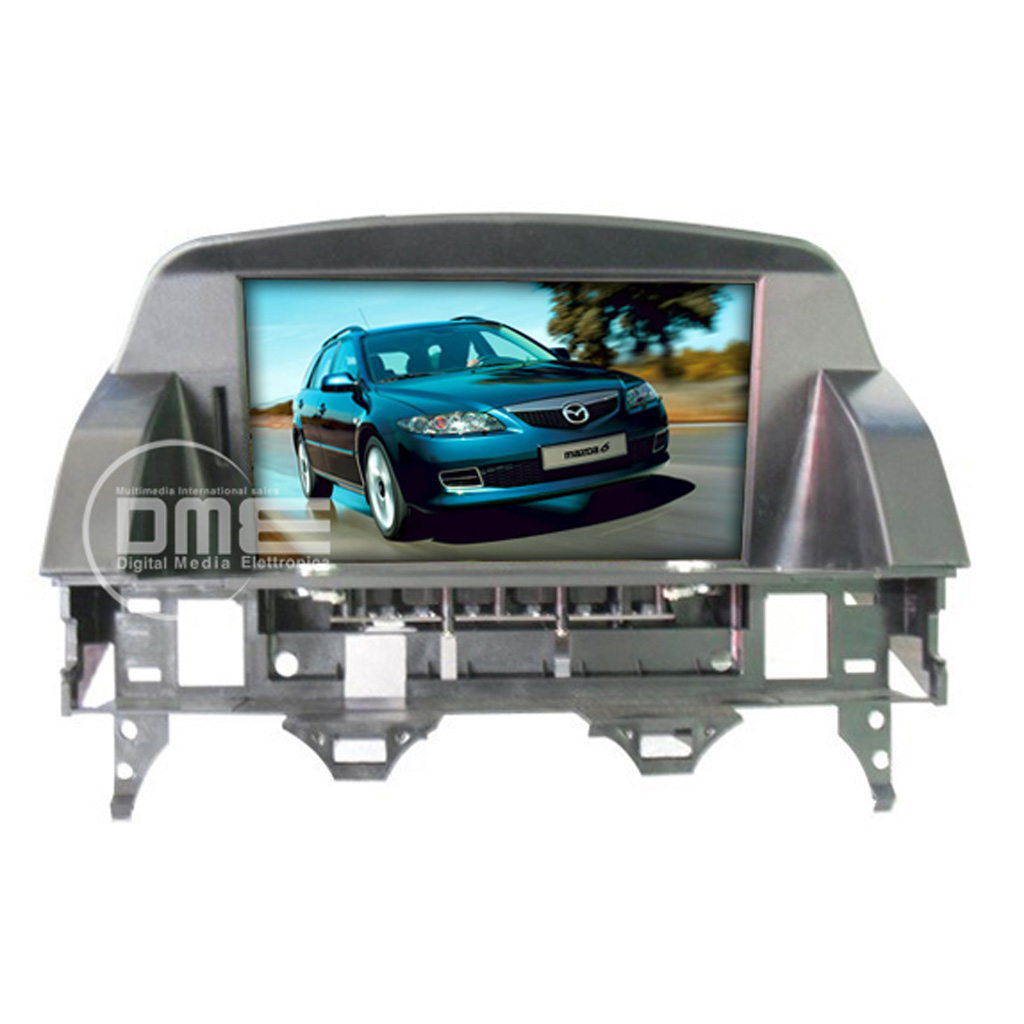 "MAZDA 6 2002-08 Android 4.4 Autoradio LCD 8"" HD Touch Navi GPS BT USD SD Mp4 MP5"