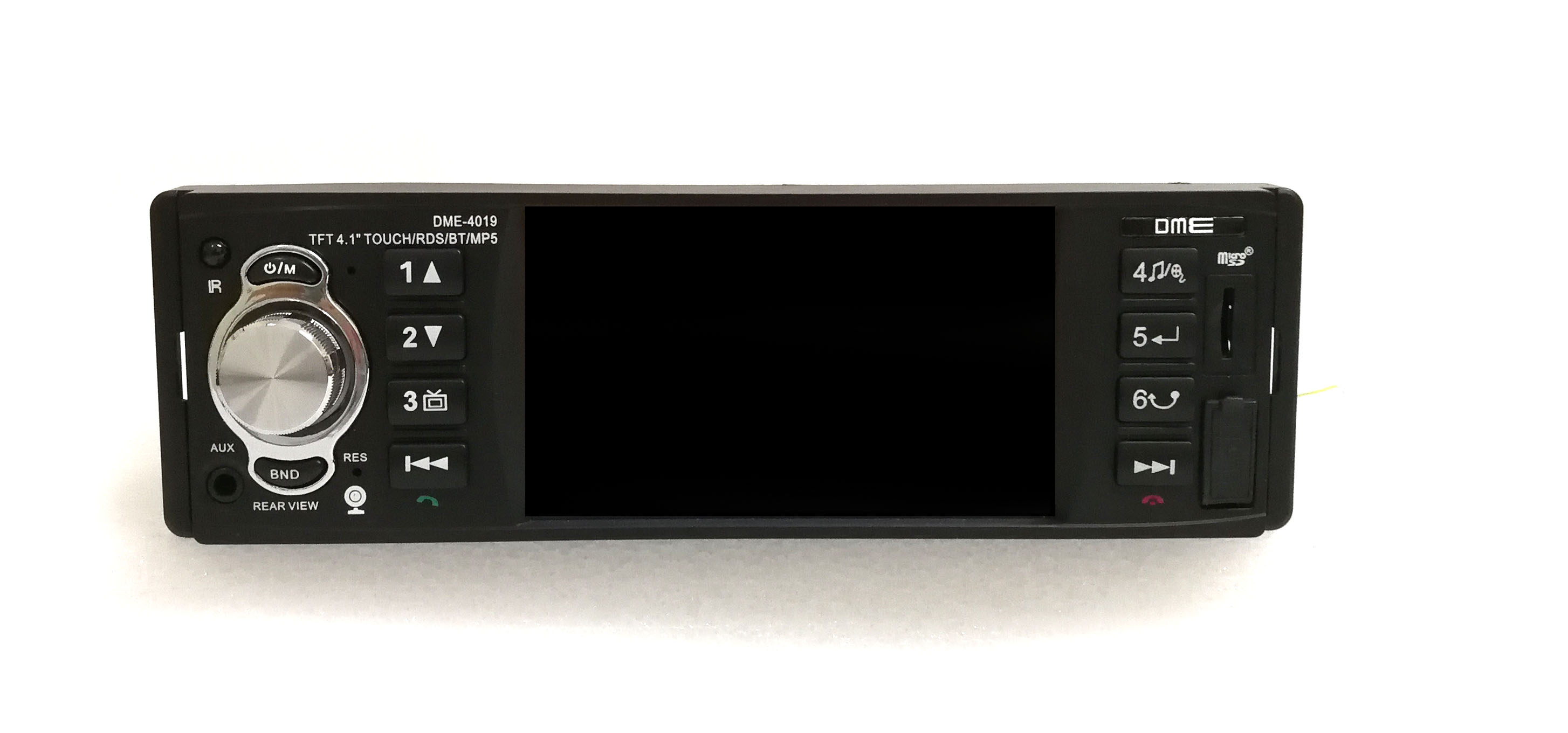 "Autoradio 1 din 4.1"" TFT touchscreen 64GB"