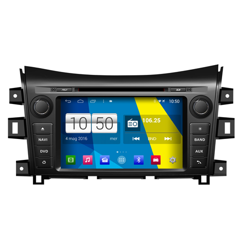 "Autoradio Nissan Navara Android 4.4 Touchscreen 7"" HD DVD Navi GPS BT USB Wifi"