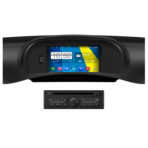 "Autoradio Renault Kangoo Android 4.4 Touch 7"" HD DVD Navi GPS BT USB SD Wifi"