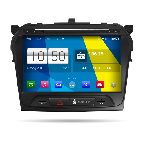"Autoradio Suzuki Vitara 2016 Android 4.4 Touch 10,1"" HD DVD Navi GPS BT USB Wifi"