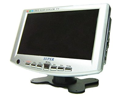 Monitor display 7'' TFT LCD COLOR TV VIDEO/AUDIO