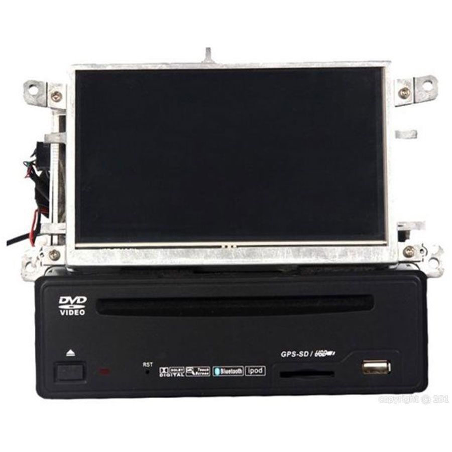 Audi A6 A8 Q7 Autoradio Interfaccia Touchscreen DVD GPS BT DVB-T opz
