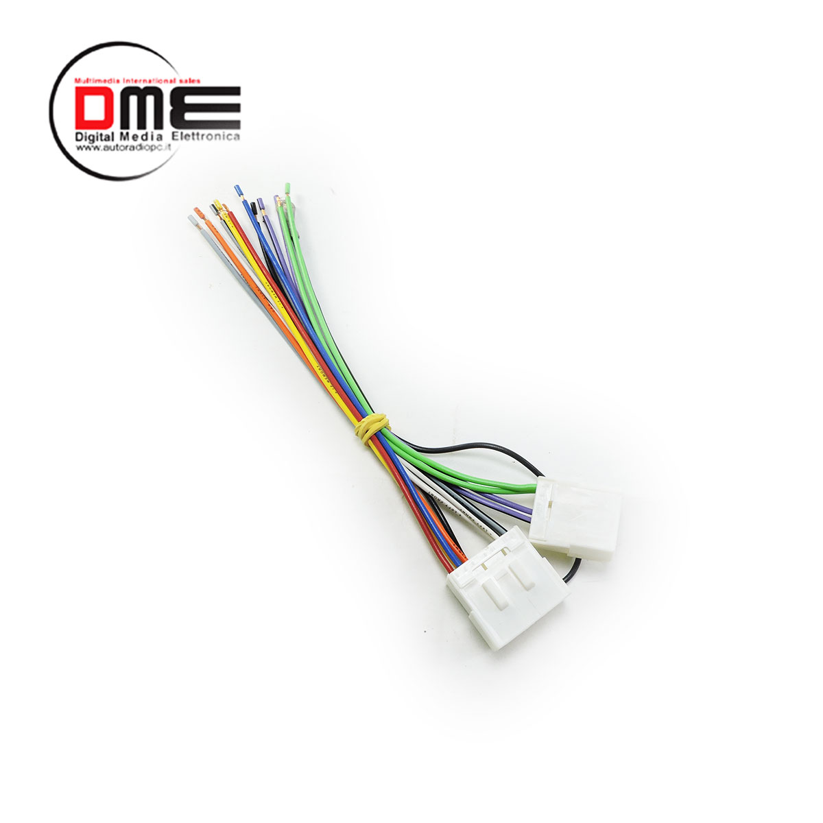 Cavetto cavo di alimentazione cable power specifico per KIA MAZDA 4 AP NO ISO