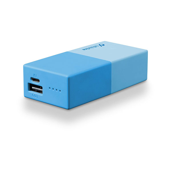 POWER BANK PER SMARTPHONE E TABLET 5000MAH CELLULAR LINE FREEPSMART5000B Varie colorazioni