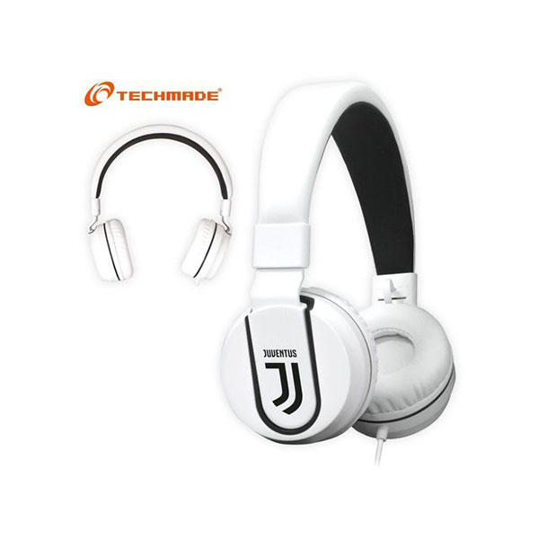 CUFFIE + MICROFONO 3,5MM TECHMADE TM-IP952-JUV 2017 JUVENTUS