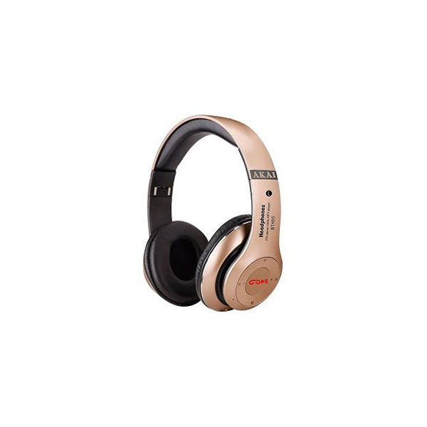 CUFFIE BLUETOOTH AKAI BTH05 GOLD