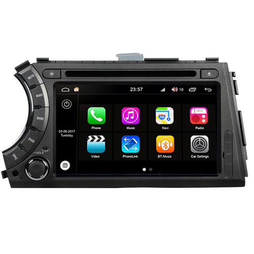 "Autoradio SsangYong Actyon/Kyron 2005-12 Android 8.0 Touch 7"" HD GPS WIFI S200"