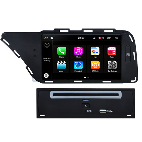 "Autoradio Audi A4/A5 2007-13 Android 8.0 Touch 7"" HD DVD GPS Bluetooth WIFI S200"