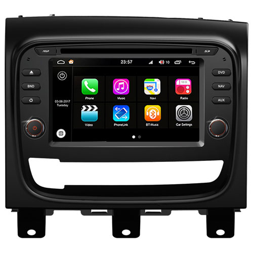 "Autoradio Fiat Strada 2013-17 Android 8.0 Touch 6.2"" HD DVD GPS USB Bluetooth WIFI S200"