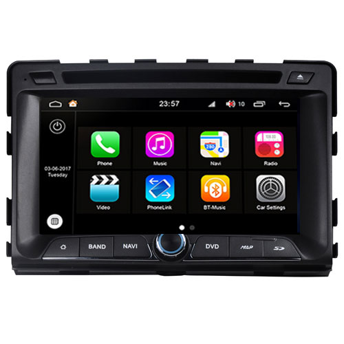 "Autoradio SsangYong Rodius 2013 Android 8.0 Touch 7"" HD DVD GPS BT WIFI S200"