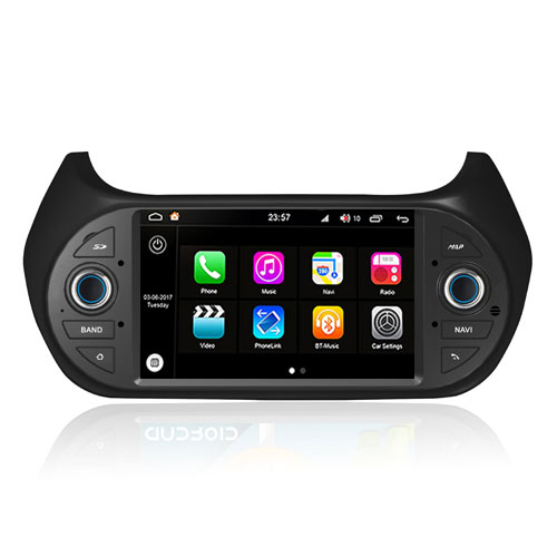 "Autoradio Fiat Doblo 2015 Android 8.0 Touch 7"" HD DVD GPS Bluetooth WIFI S200"