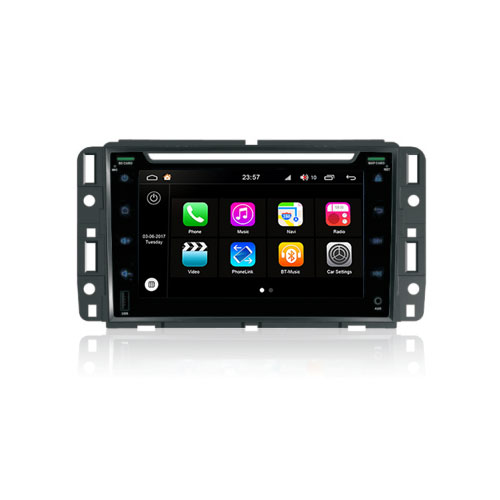 "Autoradio Gmc Acadia 2007-13 Android 8.0 Touch "" HD DVD GPS Bluetooth USB WIFI S200"