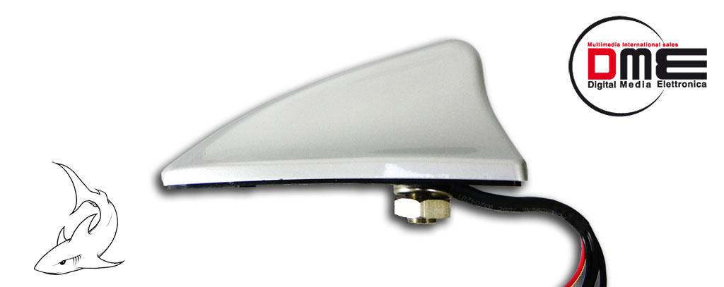 antenna squalo GPS RADIO DIGITALE TERRESTRE Dvb-t DME