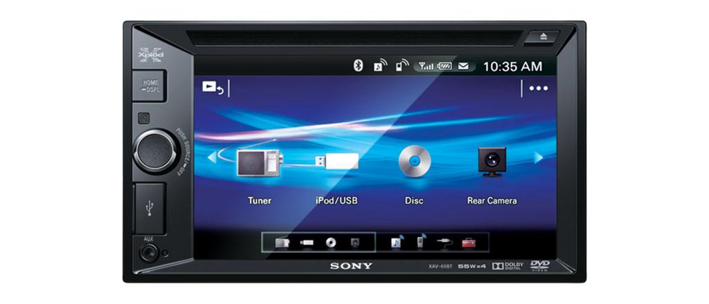 SONY XAV-68BT DVD