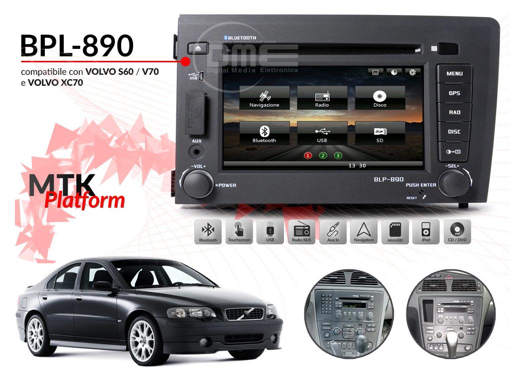 autoradio multimediale per VOLVO S60 V70 XC70