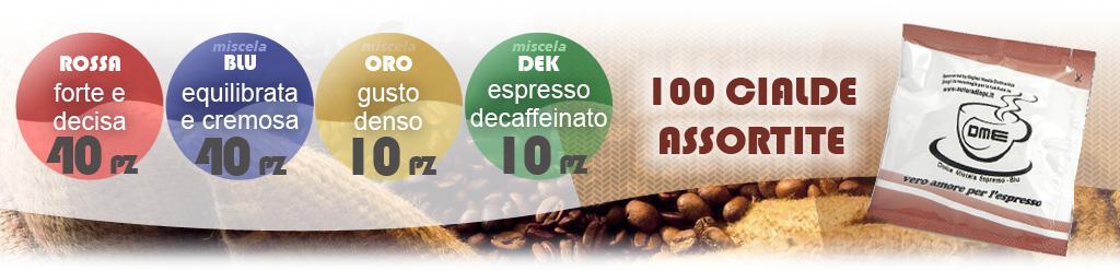 cialde caffe espresso assortite dek