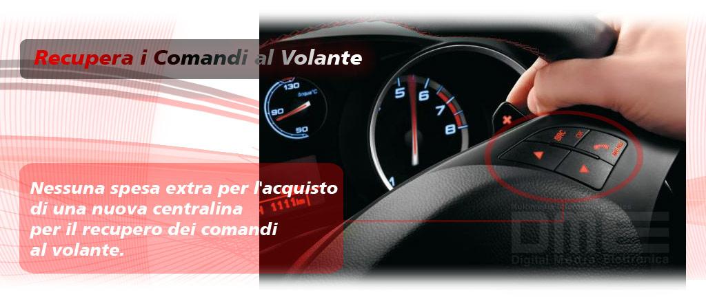 comandi al volante per Fiat Punto EVO