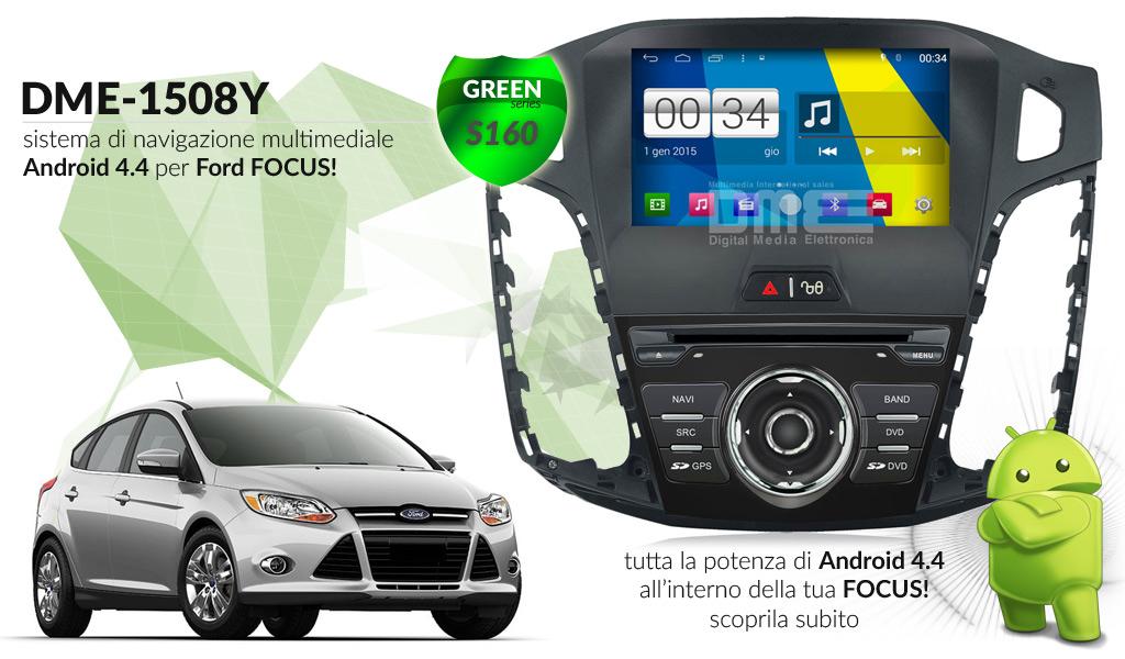 autoradio multimediale per Ford Focus