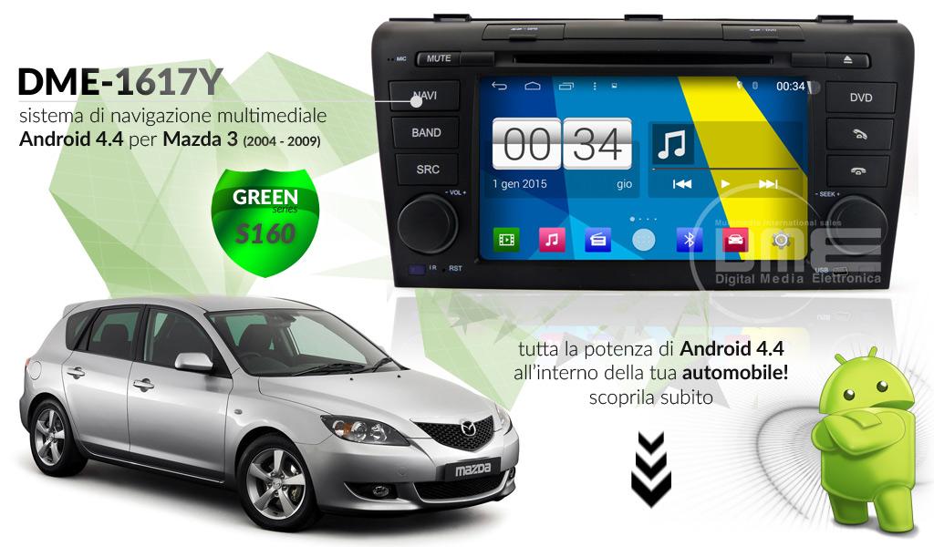 autoradio multimediale per Mazda 3