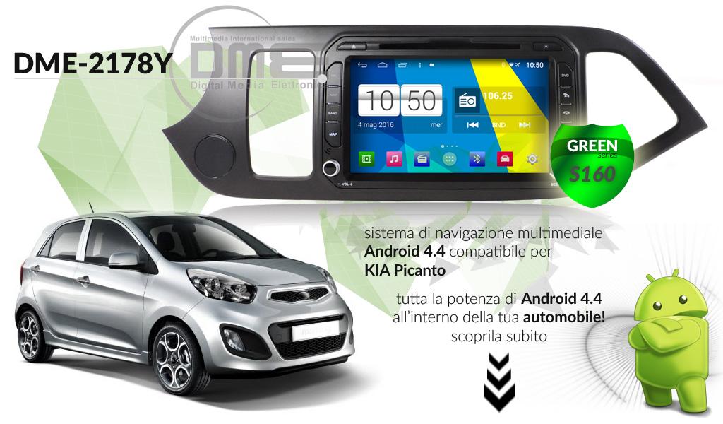 autoradio multimediale per Kia Picanto