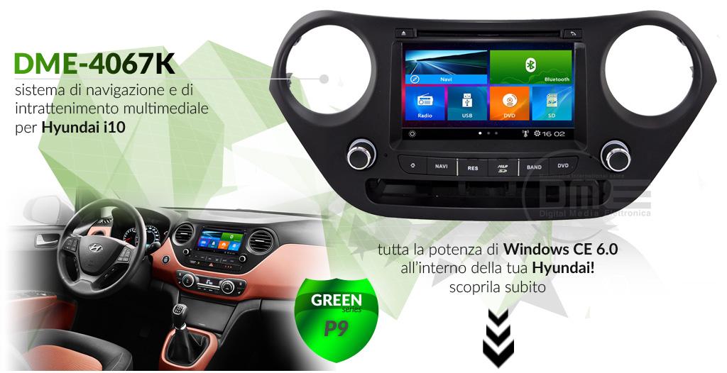 autoradio multimediale per Hyundai i10