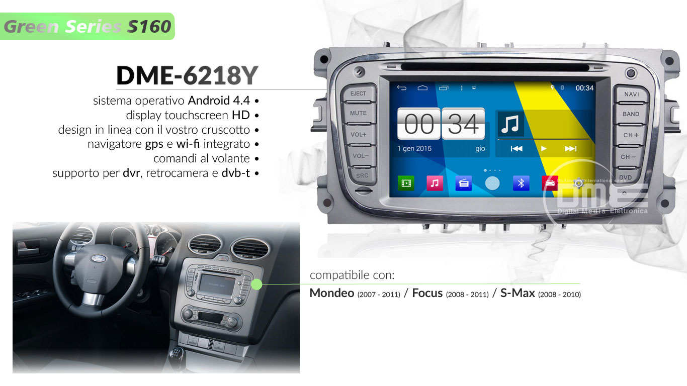 autoradio multimediale per Ford Mondeo