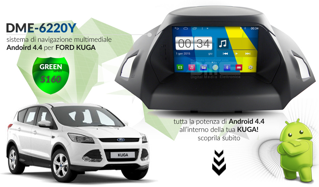 autoradio multimediale per Ford Kuga