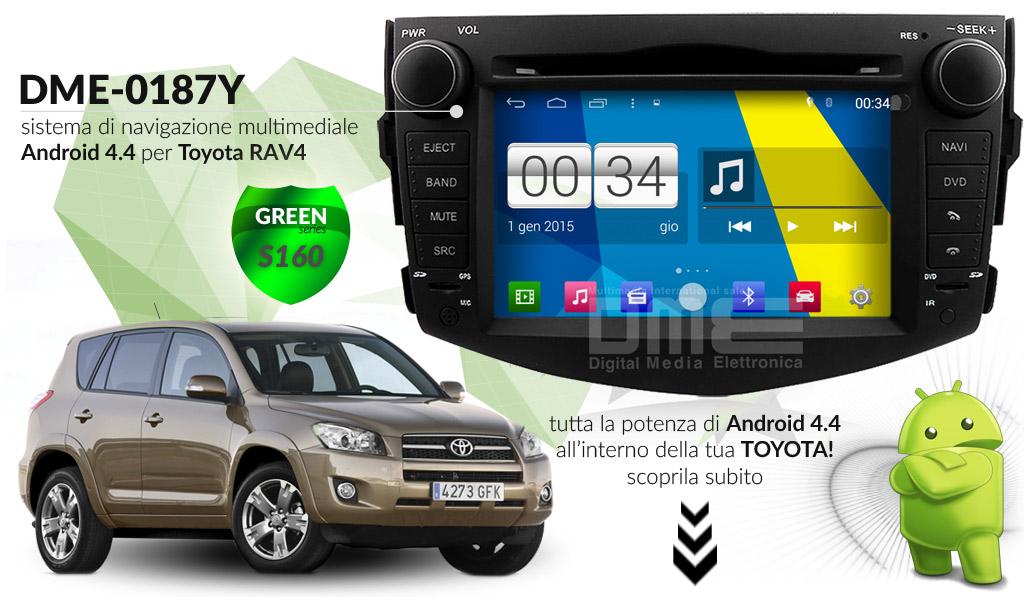 autoradio multimediale per Toyota RAV4