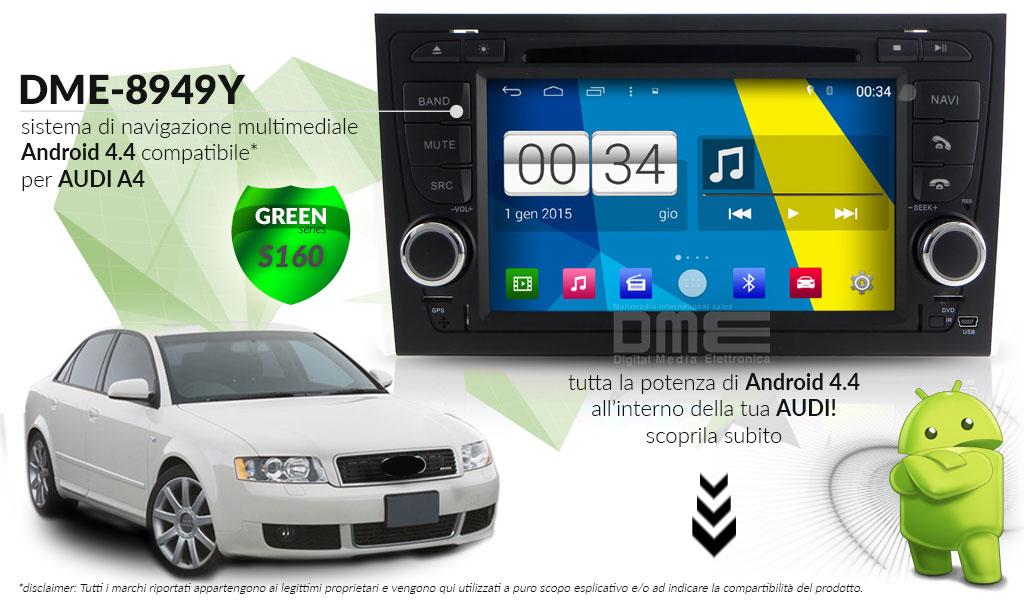 autoradio multimediale per AUDI A4