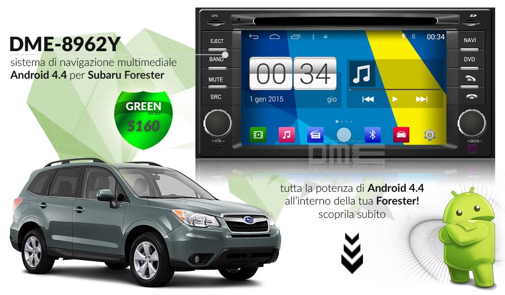 autoradio multimediale per Subaru Forester 2010 - 2013