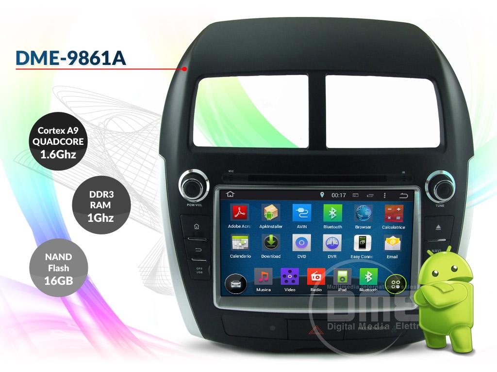 autoradio multimediale per Mitsubishi ASX
