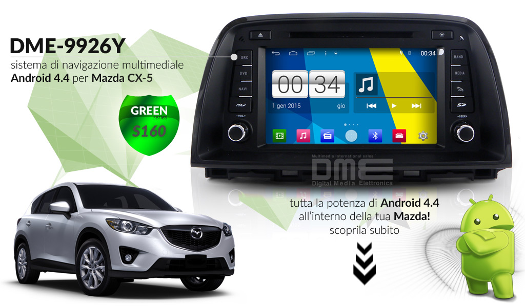 autoradio multimediale per MAZDA CX-5