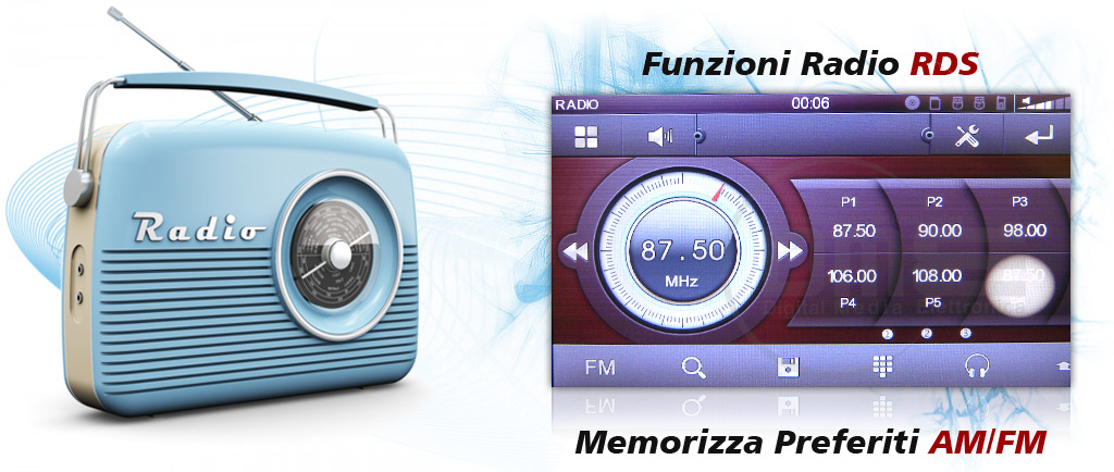 autoradio 1din windows