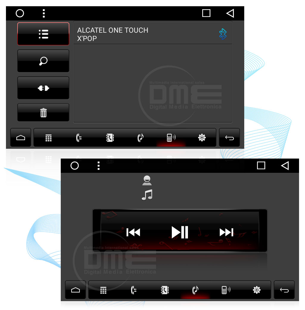 autoradio Android SMART  con bluetooth