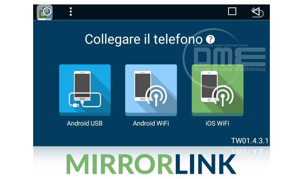 autoradio fiat grande punto android con mirrorlink