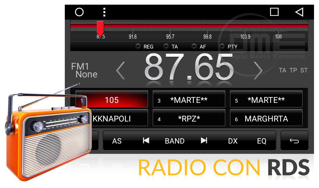autoradio fiat grande punto android con radio rds