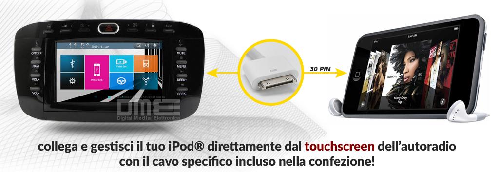 ipod per Fiat Punto EVO