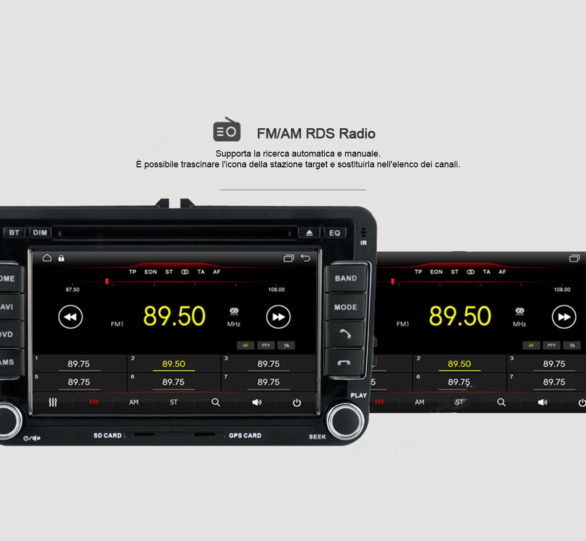 autoradio con radio