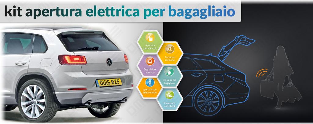 kit apertura elettrica bagagliaio per Volkswagen Tiguan