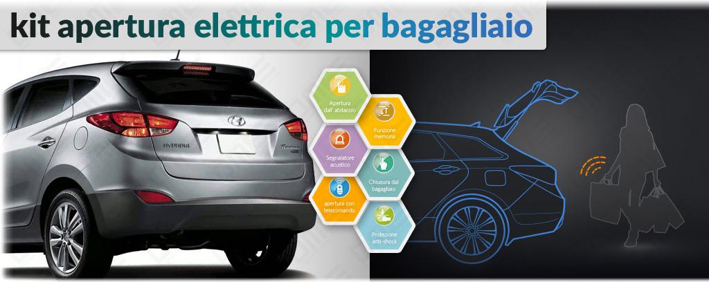 kit apertura elettrica bagagliaio per Hyundai ix35