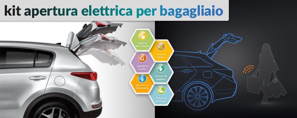 kit apertura elettrica bagagliaio per KIA Sportage
