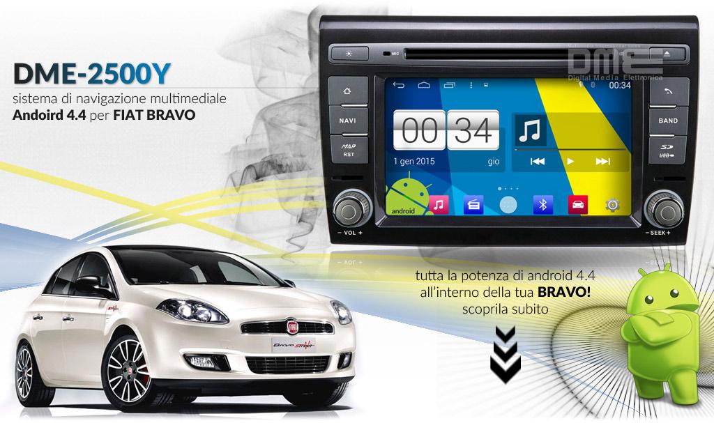 autoradio multimediale per FIAT Bravo