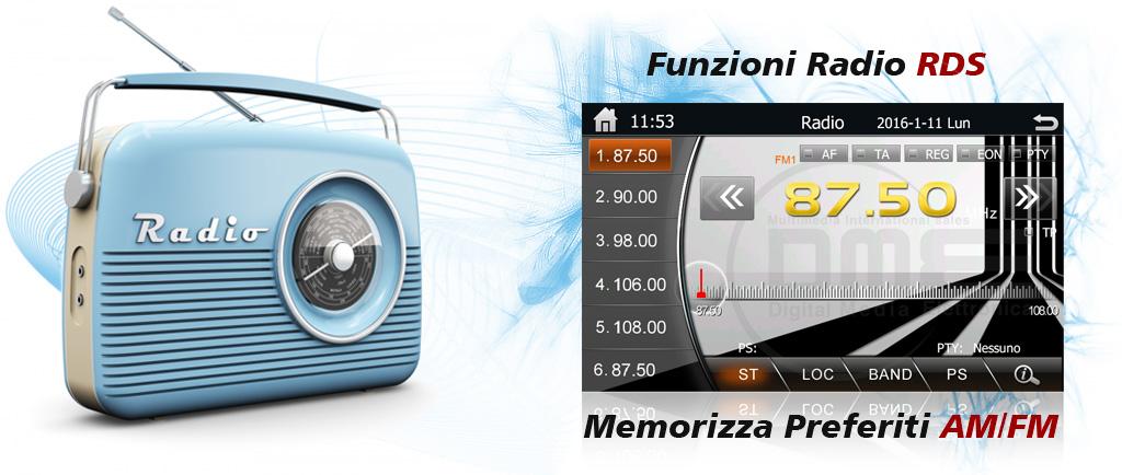 radio per Fiat Punto EVO